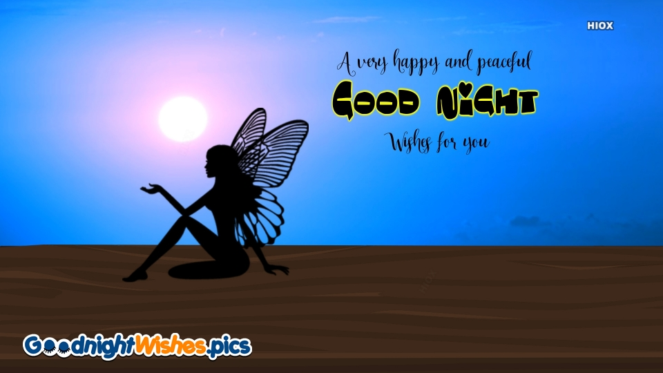 Good Night Wishes for Peaceful