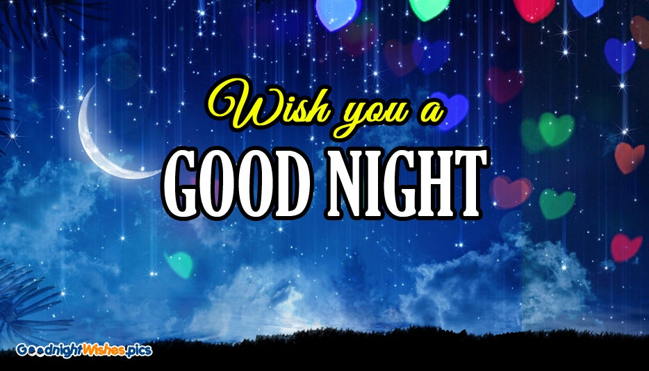 Wish You A Good Night - Good Night Wishes for Lover