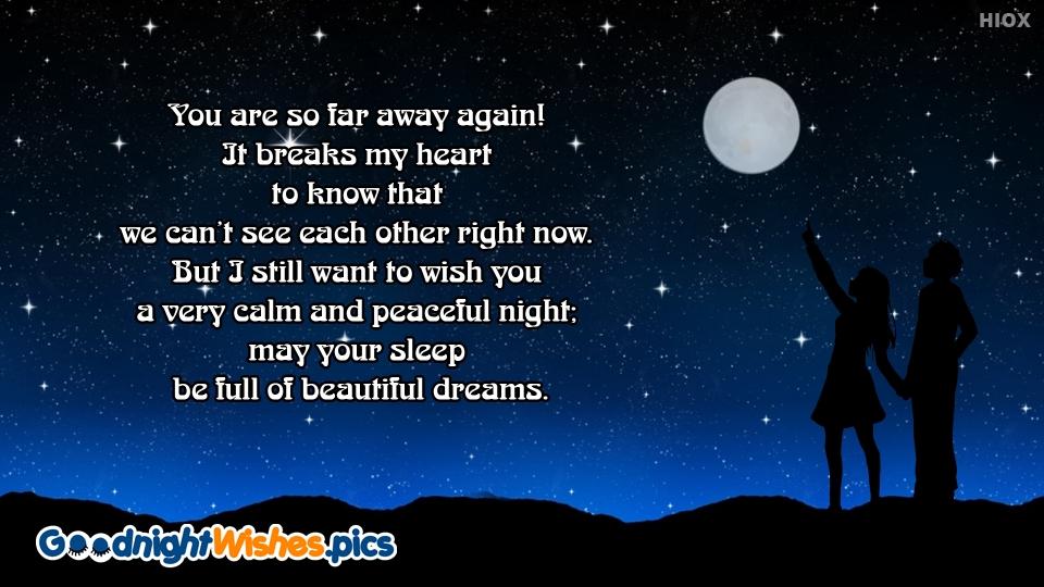 Good Night Wishes for Peaceful Sleep