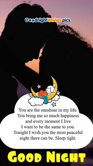 You Are The Sunshine In My Life. Good Night