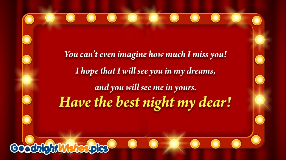 Have The Best Night My Dear